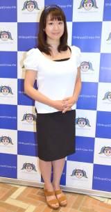 渋谷クロスFM『歩りえこの旅音人』終了後に会見を行った歩りえこ (C)ORICON NewS inc.