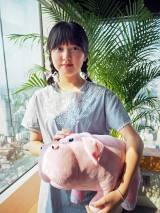 Netflixオリジナル映画『オクジャ/okja』主人公ミジャを演じる韓国の女優アン・ソヒョン (C)ORICON NewS inc.