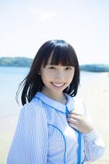 STU48デビュー曲選抜メンバーの薮下楓(C)STU