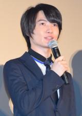 映画『メアリと魔女の花』公開初日舞台あいさつに出席した神木隆之介 (C)ORICON NewS inc.