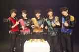 バースデーケーキと一緒に=初の東京ワンマン公演『MAG!C☆PRINCE 本気☆LIVE Vol.4』を開催したMAG!C☆PRINCE