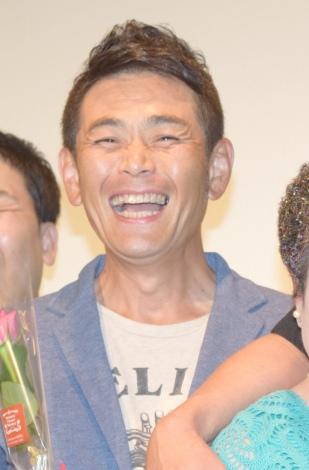 映画『帰ってきたバスジャック』初日舞台あいさつに出席した遠藤章造 (C)ORICON NewS inc.