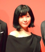 映画『ユリゴコロ』キックオフ会見に出席した吉高由里子 (C)ORICON NewS inc.
