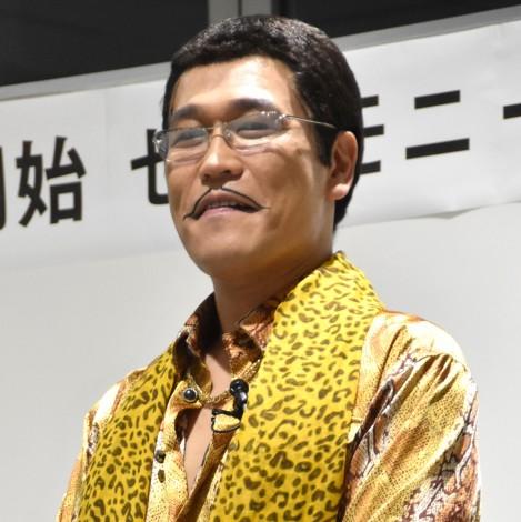 『LED電球交換開始セレモニー』に出席したピコ太郎 (C)ORICON NewS inc.