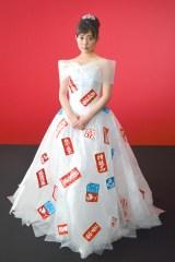 特殊ドレスを身にまとった高畑充希 (C)ORICON NewS inc.