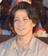 映画『銀魂』公開直前イベントに参加した小栗旬 (C)ORICON NewS inc.