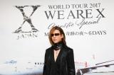 X JAPAN初の全編アコースティックツアー初日前に行われた囲み取材