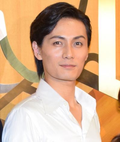 舞台『罠』ゲネプロ前の囲み取材に出席した加藤和樹 (C)ORICON NewS inc.