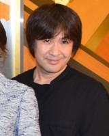 舞台『罠』ゲネプロ前の囲み取材に出席した深作健太氏 (C)ORICON NewS inc.