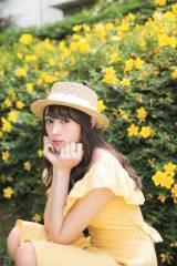 『週刊ヤングジャンプ』33号に登場する欅坂46・渡辺梨加 (C)阿部ちづる/集英社