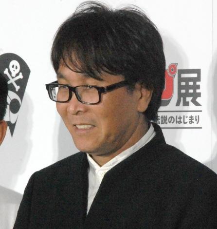 『週刊少年ジャンプ展』第1弾の特別トークセッションに出席した高橋陽一氏 (C)ORICON NewS inc.