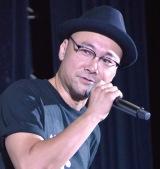映画『獣道』初日舞台あいさつに出席した内田英治監督 (C)ORICON NewS inc.