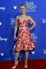 ディズニー・アニメーション映画『シュガー・ラッシュ 2(仮題)』(2018年11月21日全米公開)クリスティン・ベル(『アナと雪の女王』のアナ)=『D23 Expo 2017』(C)Disney. All rights reserved.
