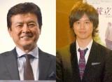 (左から)三浦友和、三浦祐太朗(祐太朗の写真は2013年のもの) (C)ORICON NewS inc.