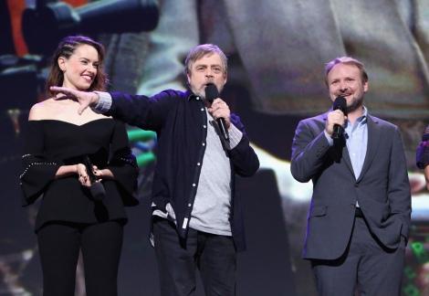 マーク・ハミル=ディズニーの公式ファンクラブイベント『D23』で映画『スター・ウォーズ/最後のジェダイ』をプレゼンテーションに登場(C)2017 Getty Images