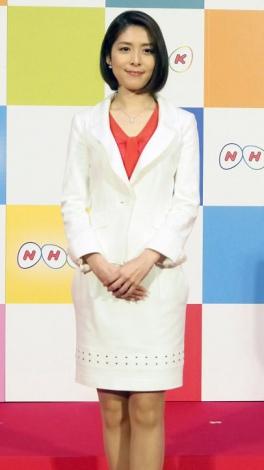 『NEWS-WEB』を担当することが発表された鎌倉千秋アナ (C)ORICON NewS inc.