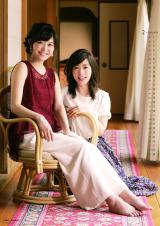 『テレビ朝日アナウンサー2017年カレンダー』2月、松尾由美子、久冨慶子