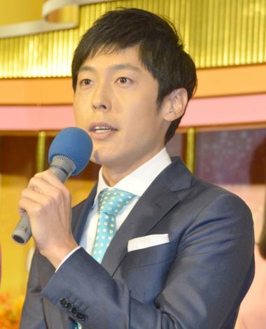 『NHKニュース7』を新たに担当することになった井上裕貴アナ (C)ORICON NewS inc.