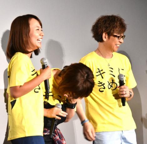 『劇場版ポケットモンスター キミにきめた!』の初日舞台あいさつの模様 (C)ORICON NewS inc.