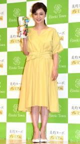 『美的ヌーボプレミアム』のブランドアンバサダー就任イベントに出席した平愛梨 (C)ORICON NewS inc.