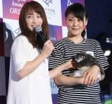 オリックスグループ新CM発表会に出席した川栄李奈 (C)oricon ME inc.