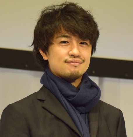 求人サイト『Indeed』新CM発表会に出席した斎藤工 (C)ORICON NewS inc.