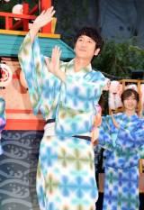 『アートアクアリウム音頭』の完成披露イベントに出席したココリコ・田中直樹 (C)ORICON NewS inc.