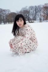 真冬の北海道での撮影も=19歳の誕生日に3冊目の写真集を発売することが決定した福原遥