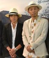 『テキーラの日』記念イベントに出席した(左から)INORAN、EXILE USA (C)ORICON NewS inc.