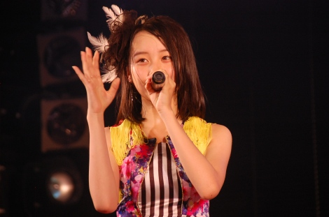 「UZA」の振付を担当したチーム8の横山結衣=AKB48劇場 井上ヨシマサ『神曲縛り』初日公演公開ゲネプロより (C)ORICON NewS inc.