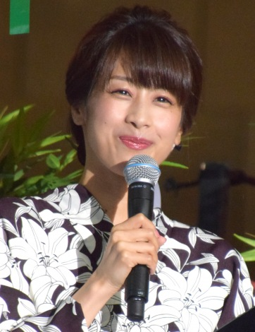 司会を務めた加藤綾子アナ=映画「心が叫びたがってるんだ。」完成記念プレミアイベント (C)ORICON NewS inc.