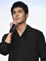 映画『心が叫びたがってるんだ。』初日舞台あいさつに登壇した寛一郎(C)ORICON NewS inc.