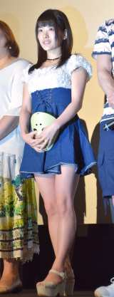 ドラマ『フェイクドキュメントドラマ プロデューサーK #2』プレミアム上映会に参加した仮面女子・神谷えりな (C)ORICON NewS inc.