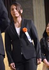 『第69回毎日書道展』表彰式に出席した松本薫選手 (C)ORICON NewS inc.