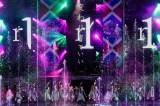 「エキセントリック」では噴水の演出も=欅坂46初のワンマン野外ライブ『欅共和国2017』
