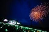 本編ラストには花火も打ち上がった=欅坂46初のワンマン野外ライブ『欅共和国2017』