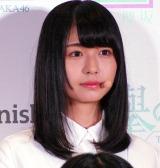 欅坂46公式ゲームアプリ『欅のキセキ』の制作発表イベントに登壇した長濱ねる (C)ORICON NewS inc.