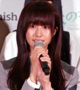 欅坂46公式ゲームアプリ『欅のキセキ』の制作発表イベントに登壇した土生瑞穂 (C)ORICON NewS inc.