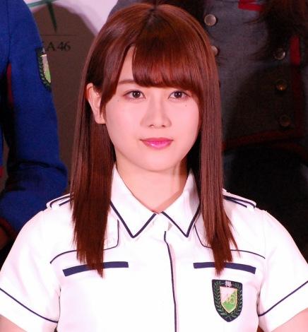 欅坂46公式ゲームアプリ『欅のキセキ』の制作発表イベントに登壇した守屋茜 (C)ORICON NewS inc.