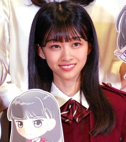 欅坂46公式ゲームアプリ『欅のキセキ』の制作発表イベントに登壇した原田葵 (C)ORICON NewS inc.