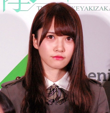 欅坂46公式ゲームアプリ『欅のキセキ』の制作発表イベントに登壇した加藤史帆 (C)ORICON NewS inc.