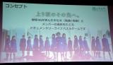 欅坂46公式ゲームアプリ『欅のキセキ』ゲームコンセプト=欅坂46公式ゲームアプリ『欅のキセキ』の制作発表イベント (C)ORICON NewS inc.