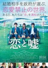 映画『恋と嘘』の予告編が公開 (C)2017「恋と嘘」製作委員会(C)ムサヲ/講談社