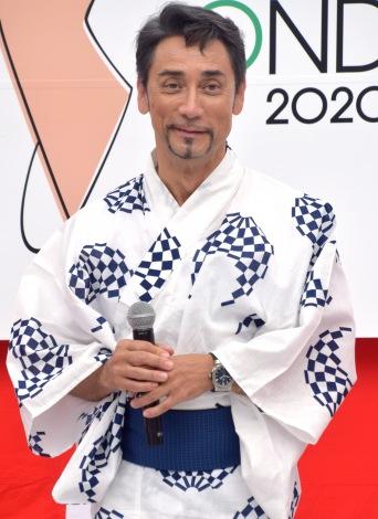 「東京五輪音頭-2020-」発表会に参加したクリス・ペプラー (C)ORICON NewS inc.