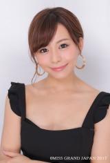 ミス・グランド・ジャパンファイナリスト、山本彩未 東京都出身27歳(C)MISS GRAND JAPAN 2017