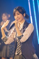 NMB48劇場で行われた公演に出演した須藤凜々花