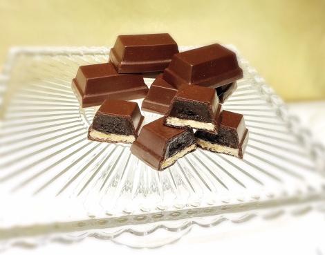 サムネイル リニューアルした「キットカット ショコラトリー 銀座本店」の新作『キットカット ショコラトリー ガトーミニョン』 (C)oricon ME inc.