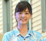 『超汐留パラダイス』キックオフイベントに参加した佐藤梨那アナウンサー (C)ORICON NewS inc.