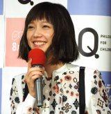 NHKでEテレの新番組『Q〜こどものための哲学〜』の試写会に出席した本田翼 (C)ORICON NewS inc.