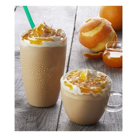 サムネイル タリーズからエスプレッソとオレンジの爽やか味が楽しめる『クレープシュゼットラテ』が新登場